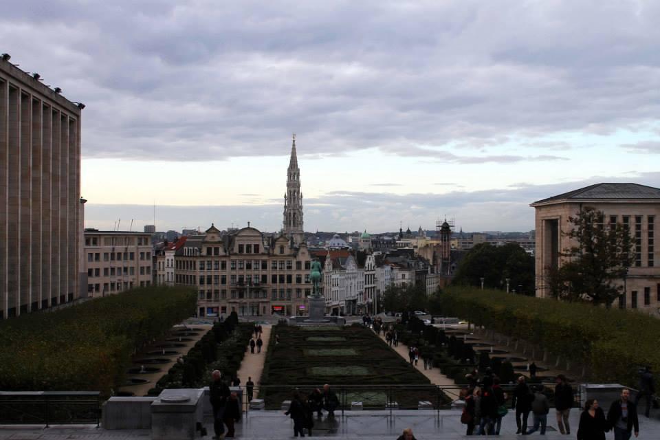 Entering Brussels