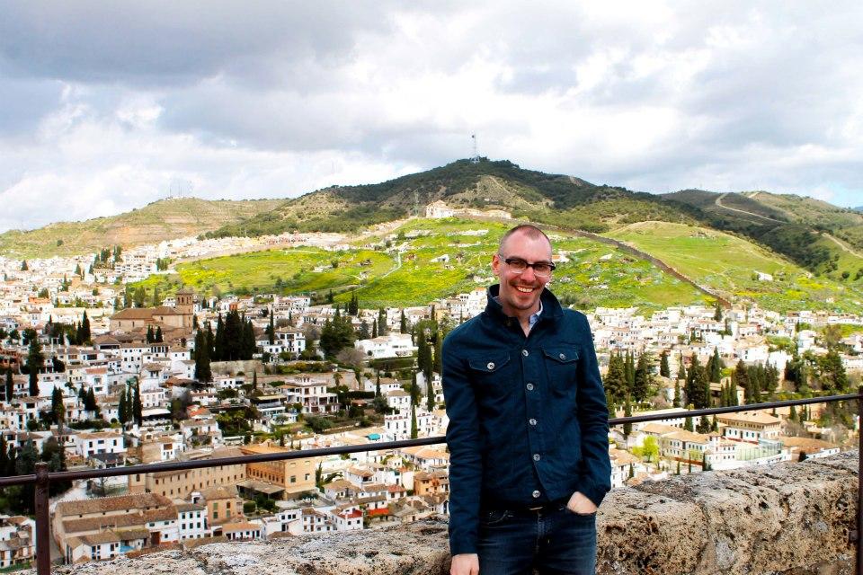 Overlooking Granada.
