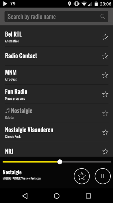 Radio BEL for Android