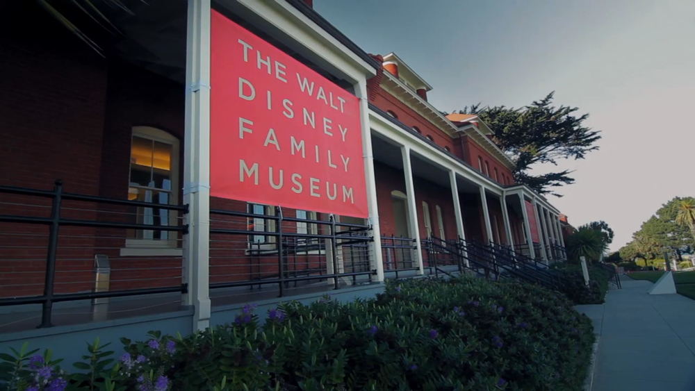 WALT DISNEY FAMILY MUSEUM // artist portrait