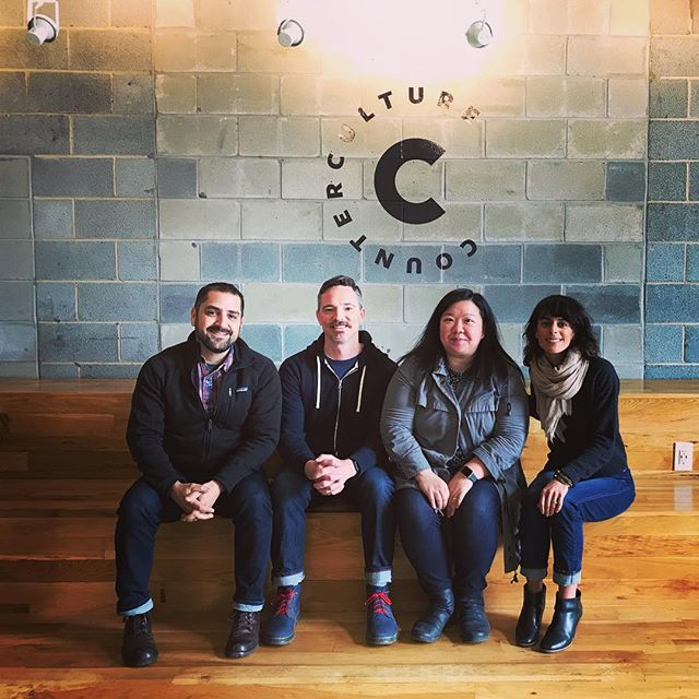 Just had an awesome visit and tour with Brian and Cindy at @counterculturecoffee in Durham. These guys know how do to #coffee right. Seriously. Look for their beans at a store near you! ☕️