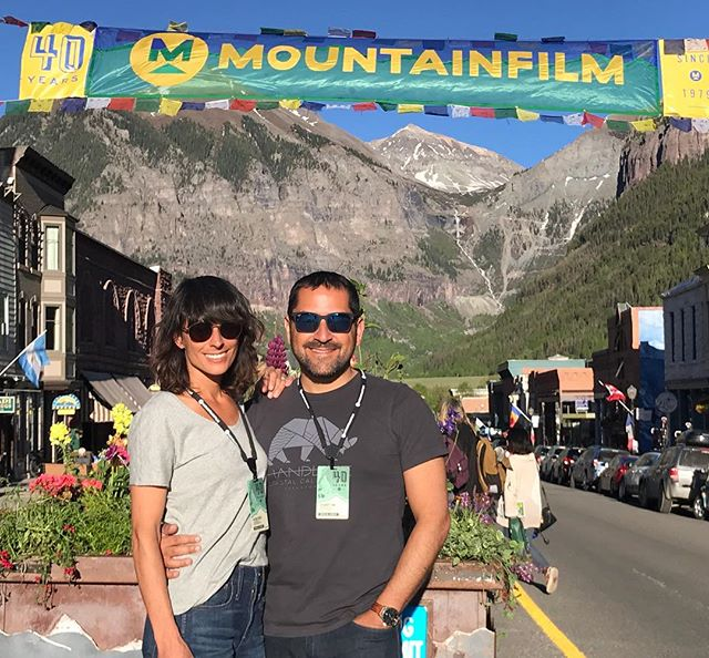 Loving #mfilm18, the town of #telluride, and the group of filmmakers and film lovers we're meeting at this incredible festival!