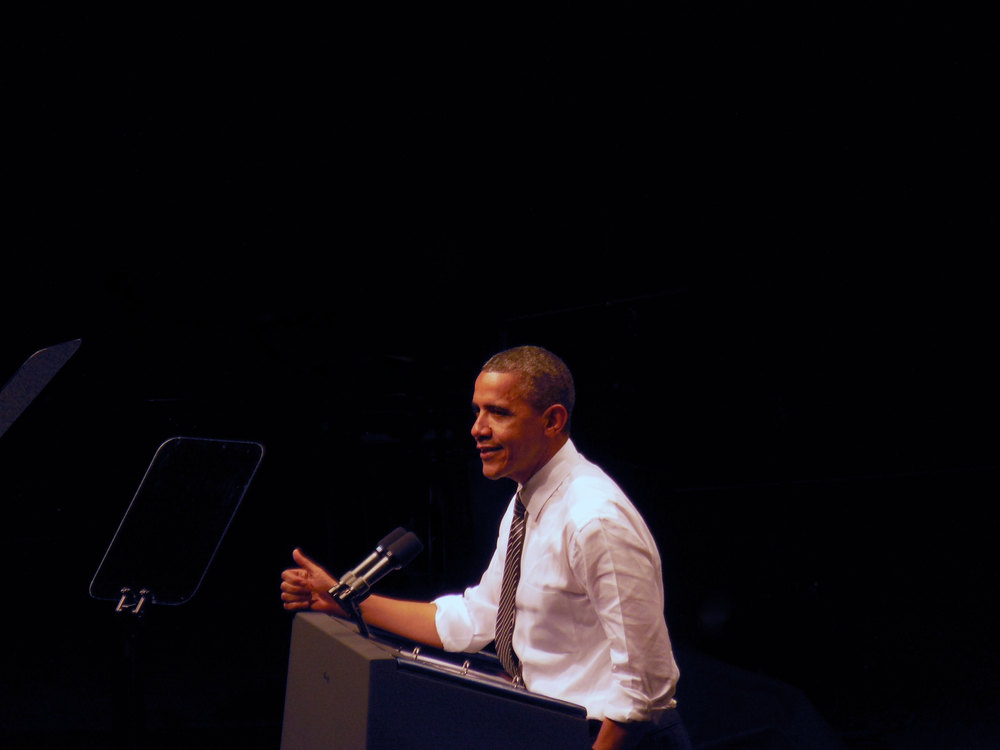 Obama in San Francisco, Copyright Scott A. Hunt