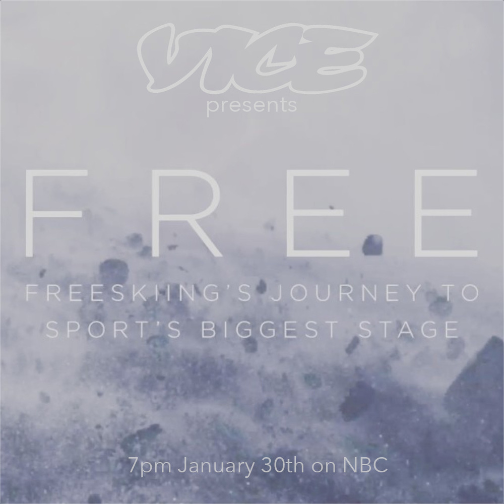 January 29th, 2014  I recently shot the feature documentary FREE for VICE about Freeskiing, a new Olympic skiing event akin to snowboarding's halfpipe and slope-style courses and debuting at the 2014 Winter Olympics in Sochi. We followed 4 athletes, Tom Wallisch, Maddie Bowman, Aaron Blunck and Devin Logan, vying for a 5 highly competitive spots on the elite, U.S. freeskiing team. Unlike athletes from the rest of the world who secure a place on their country's team months before the Games, U.S. Olympians qualify only weeks before the opening ceremony. Consequently, the United States sends its most current masters from each sport to the Olympics and greatly contributes to its dominance on the medal podium. At the time of completion of filming, we didn't know whether our four athletes would make the team. Three of them did. Click  HERE  to watch the Trailer.