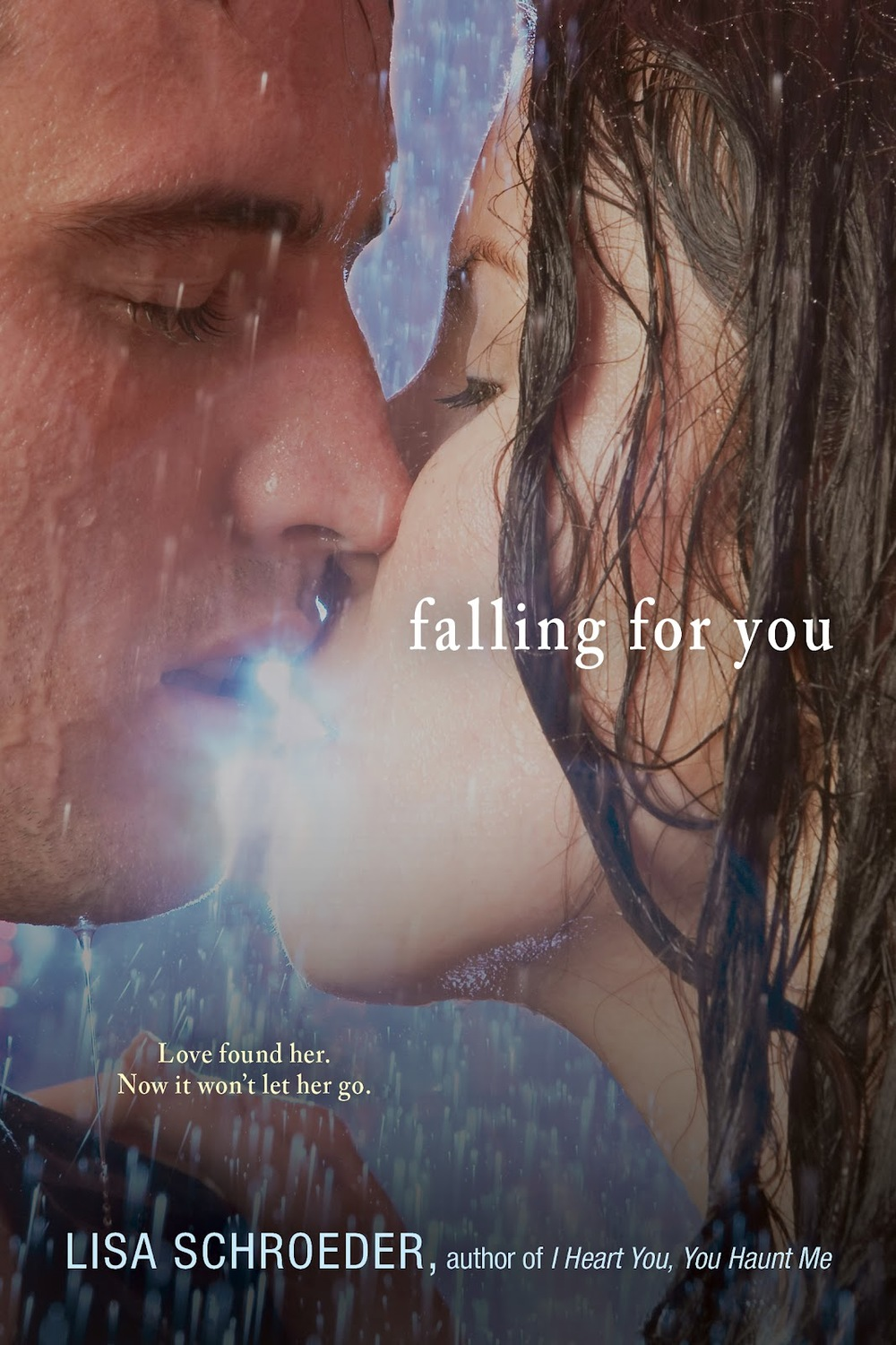 Falling for You by Lisa Schroeder on Clear Eyes, Full Shelves