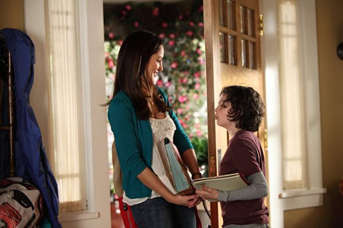 Gaby/Lyla Garrity on Parenthood - on Clear Eyes, Full Shelves