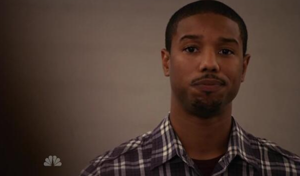 VInce Howard aka Michael B Jordan aka Alex from Parenthood, on Clear Eyes, Full Shelves
