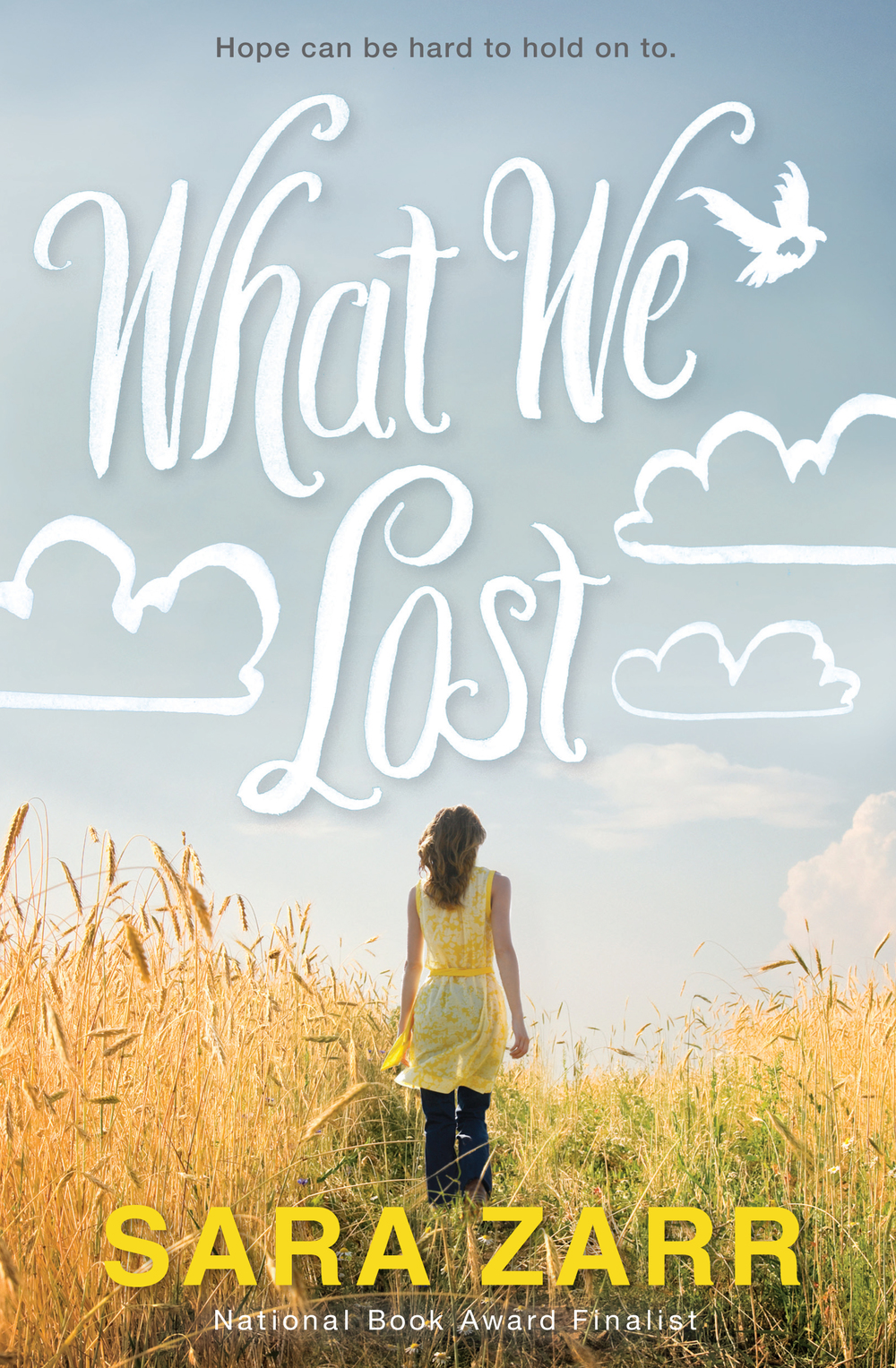What We Lost by Sara Zarr - New Name and Title