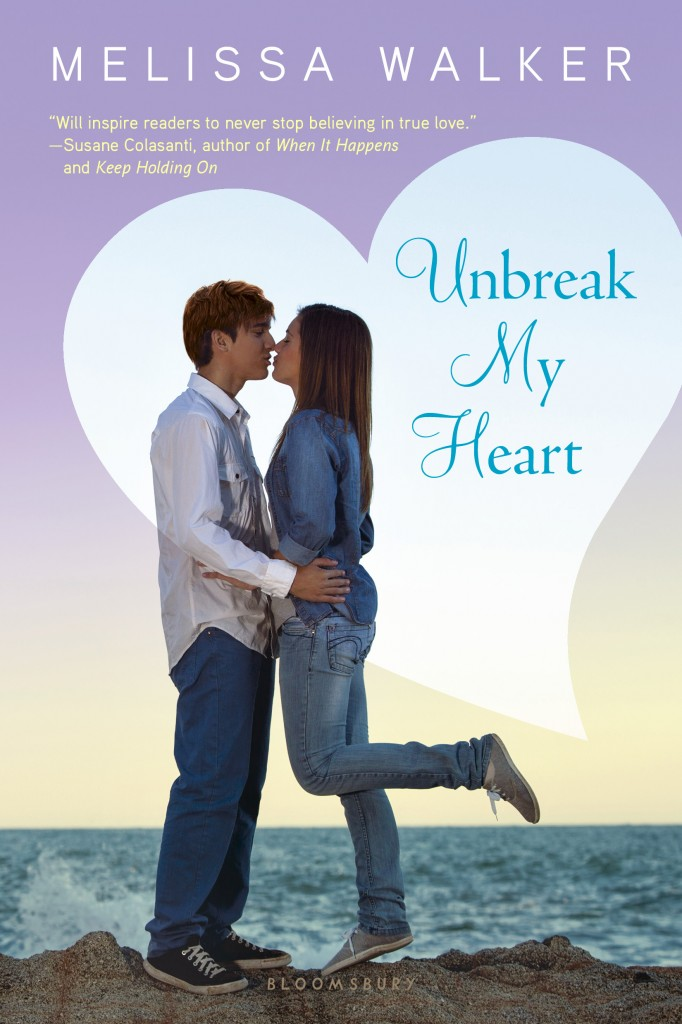 Unbreak My Heart by Melissa Walker | Paperback Cover (May 2013)