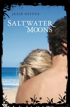 Saltwater Moons by Julie Gittus on Clear Eyes, Full Shelves