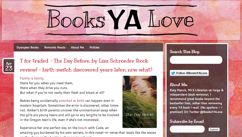 Books YA Love Celebrates Verse Week | cleareyesfullshelves.com