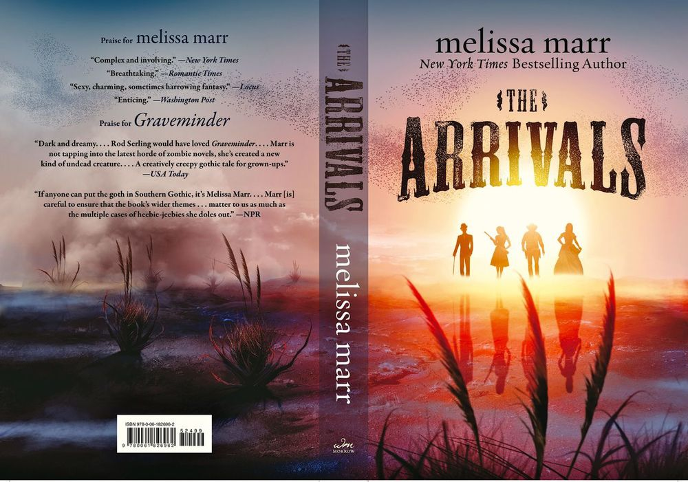 The Arrivals by Melissa Marr, July 2013