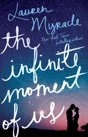 Love & Sex in The Infinite Moment of Us by Lauren Myracle | Clear Eyes, Full Shelves | cleareyesfullshelves.com