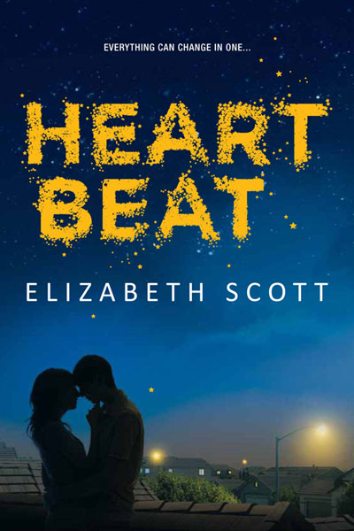 I read Elizabeth Scott's forthcoming release, Heartbeat, last night and absolutely loved it. Yesterday, Teen.com unveiled the cover, which perfectly captures the mood of the novel. There is an interesting backstory to this cover, as Harlequin Teen made the bold move to delay the book's release until the cover was exactly right.
