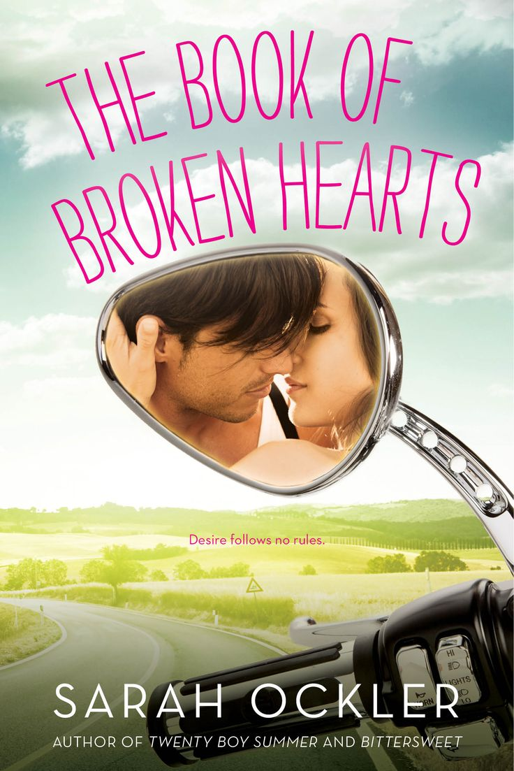 Amazon | Goodreads Note from Sarah: It boggles my mind that we never wrote about The Book of Broken Hearts on CEFS.