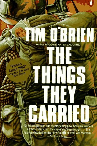 The Things They Carried by Tim O'Brien  Amazon  |  Goodreads