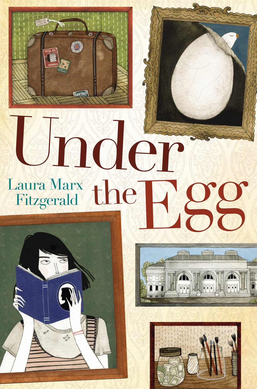 Under the Egg by Laura Marx Fitzgerald  Review  |  Amazon  |  Goodreads