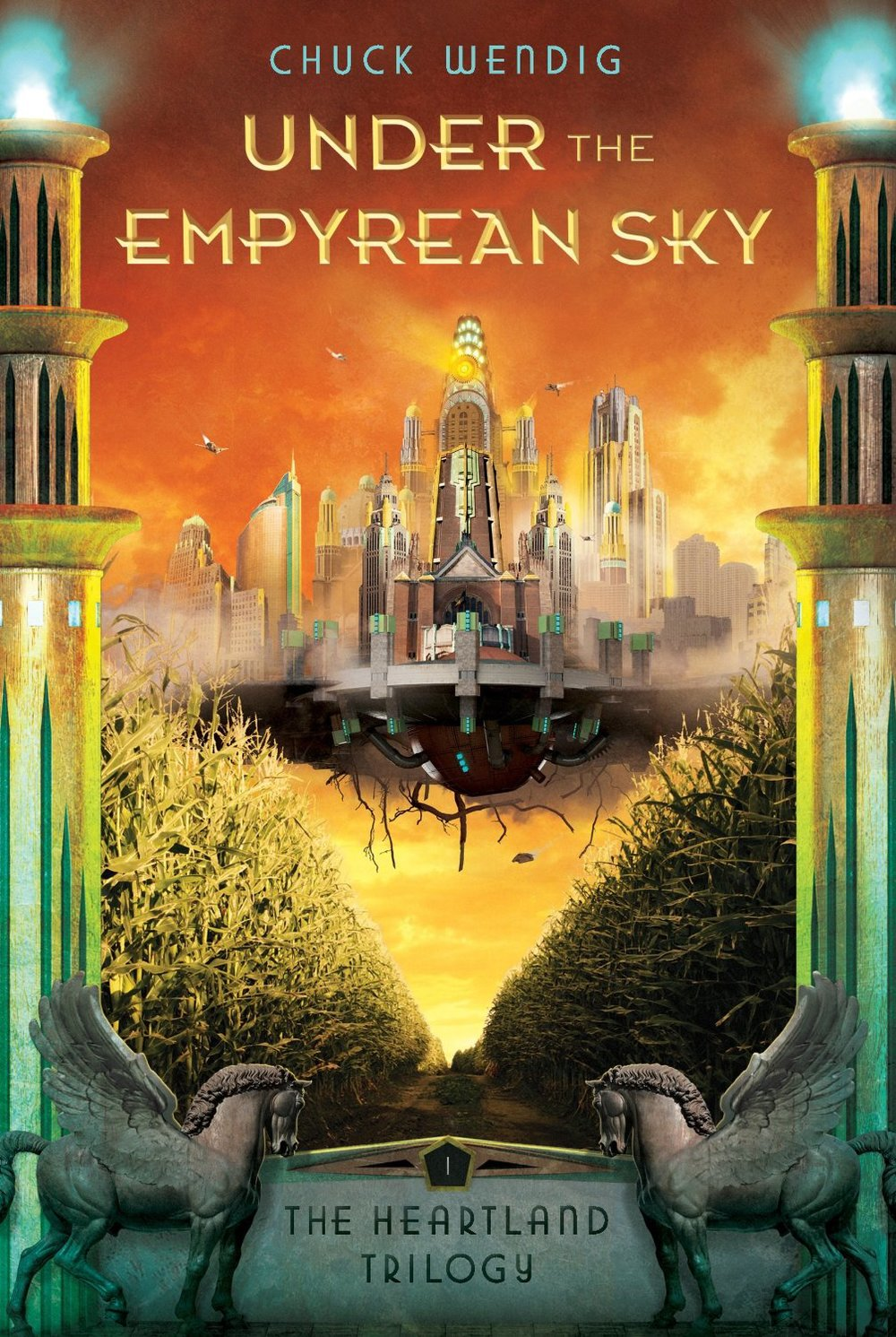 Under the Empyrean Sky by Chuck Wendig | Clear Eyes, Full Shelves