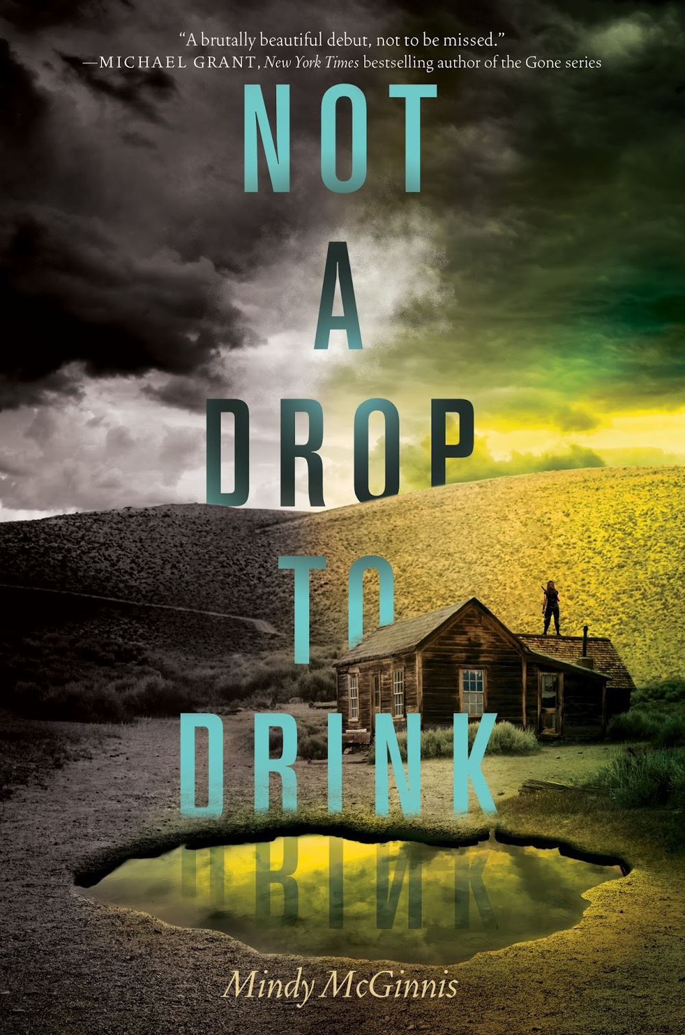 Not a Drop to Drink by Mindy McGinnis Amazon | Goodreads