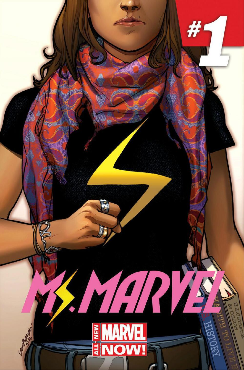 Recommendation Tuesday: Ms Marvel By G Willow Wilson €� Clear Eyes, Full  Shelves