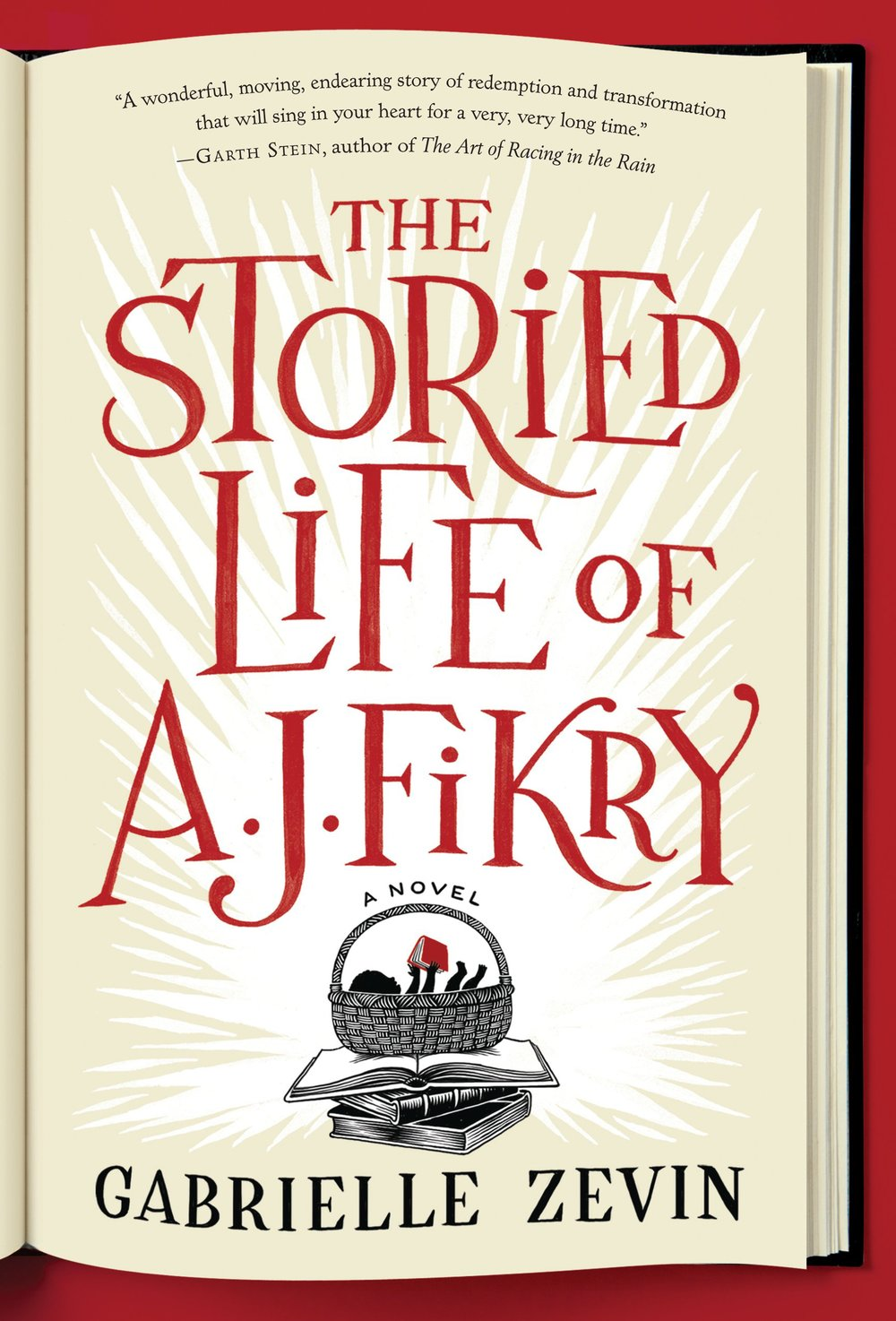 The Storied Life of AJ Fikry  by Gabrielle Zevin | Clear Eyes, Full Shelves