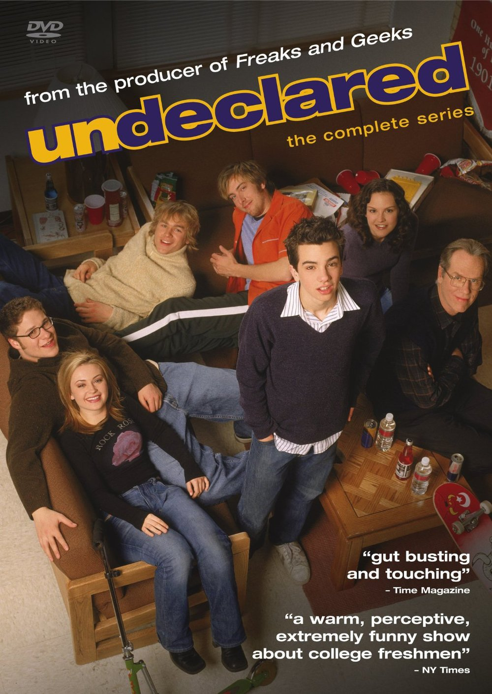Undeclared DVDs - Clear Eyes, Full Shelves