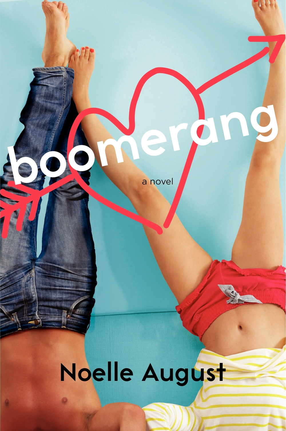 Boomerang by Noelle August | Clear Eyes, Full Shelves