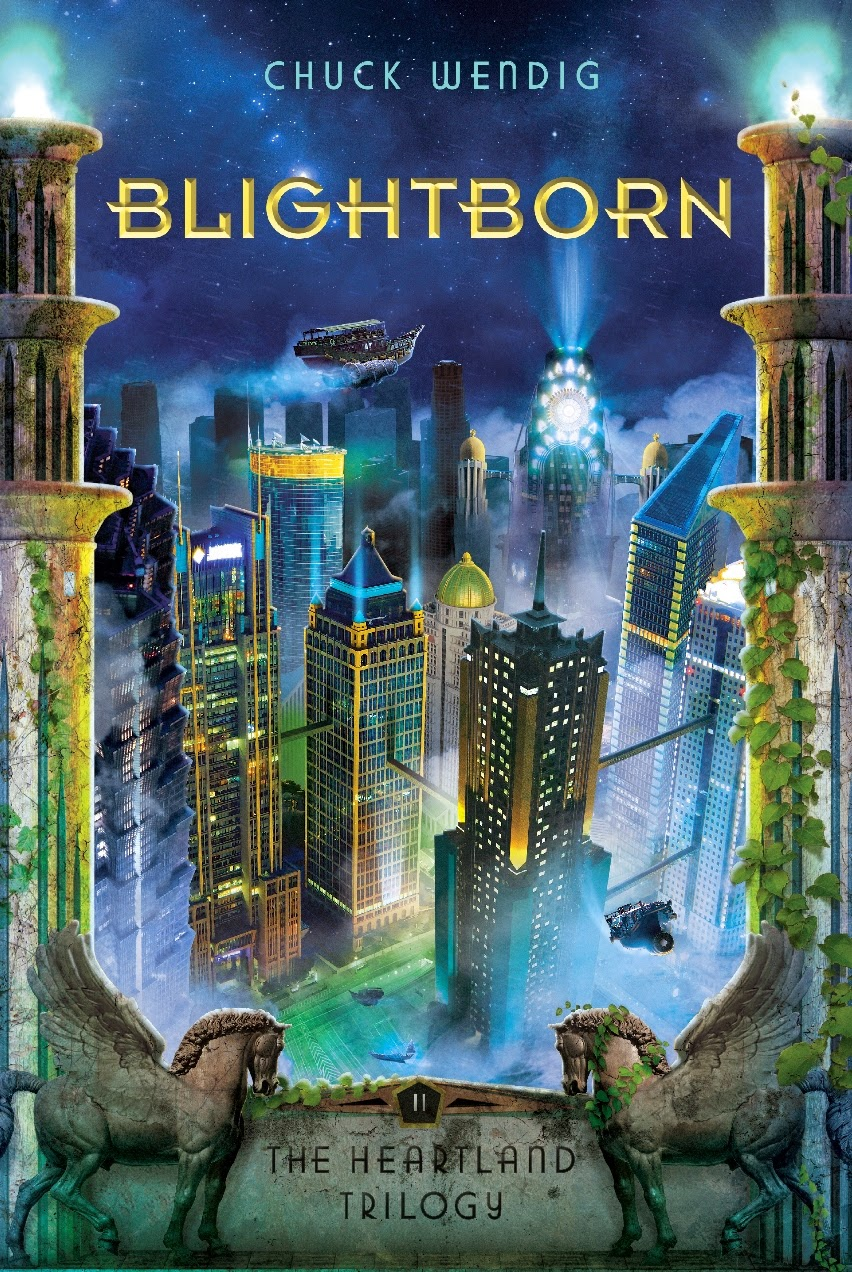 Blightborn by Chuck Wendig | Clear Eyes, Full Shelves