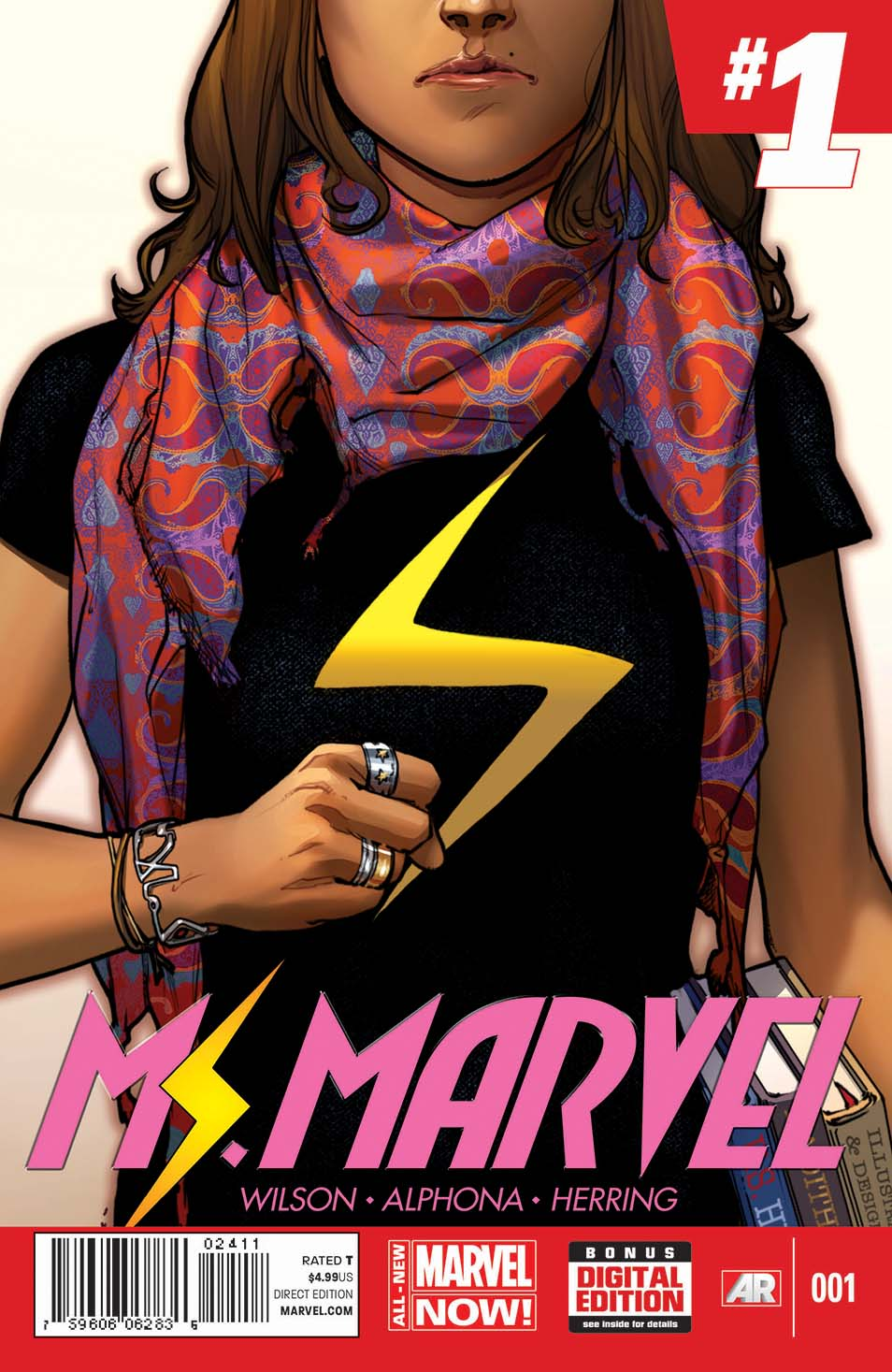 Ms. Marvel | Clear Eyes, Full Shelves