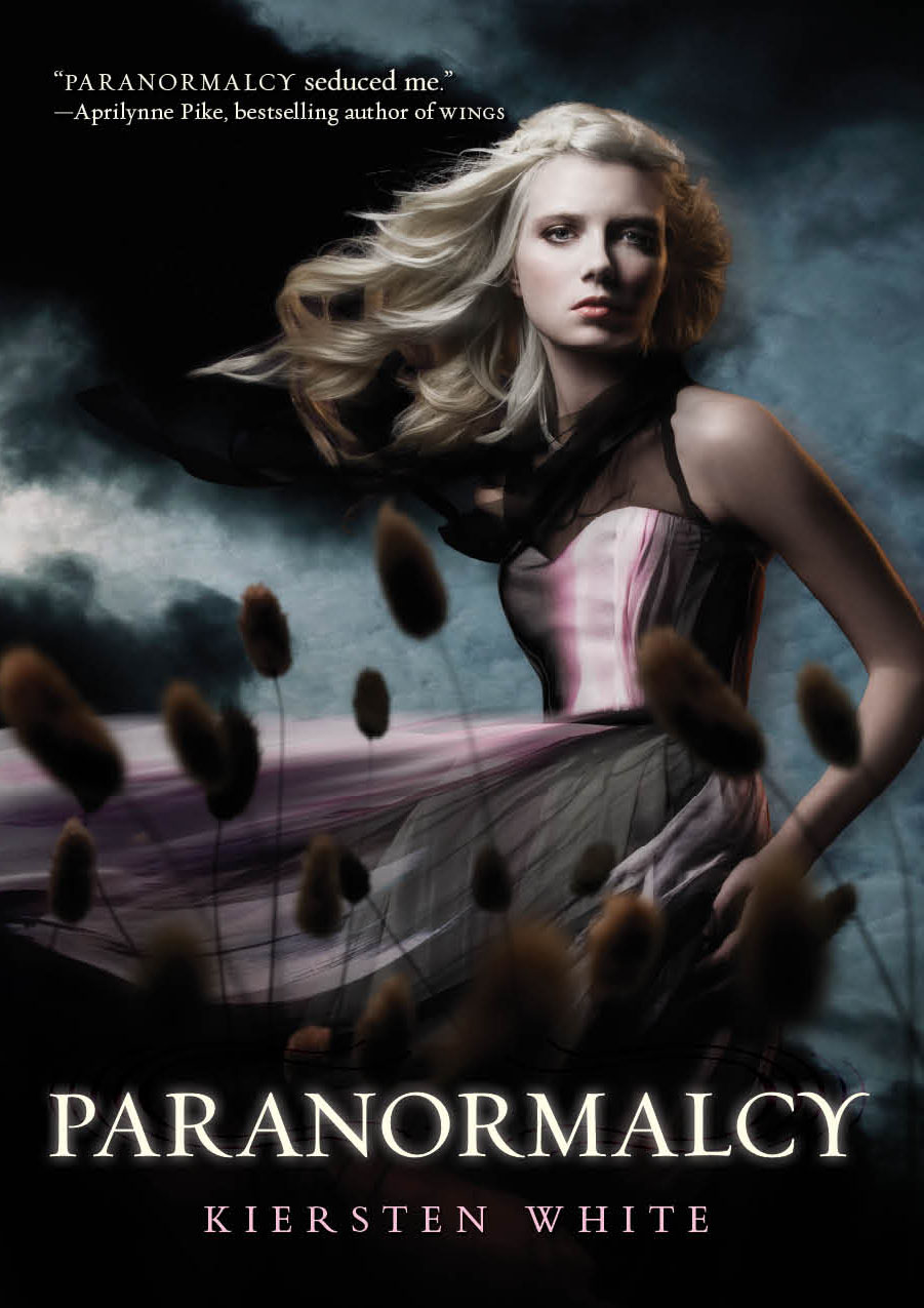 Paranormalcy by Kiersten White | Clear Eyes, Full Shelves