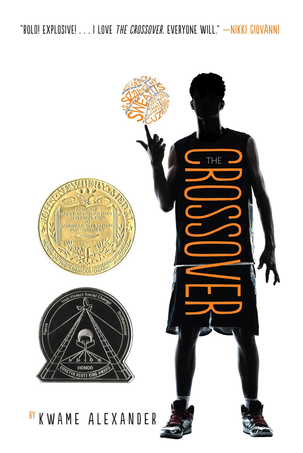 The Crossover by Kwame Alexander | Clear Eyes, Full Shelves