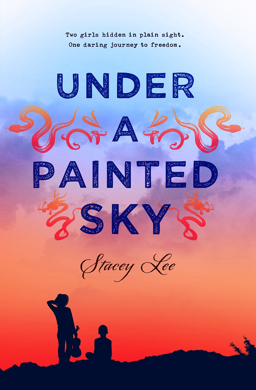 Under a Painted Sky by Stacey Lee | Clear Eyes, Full Shelves