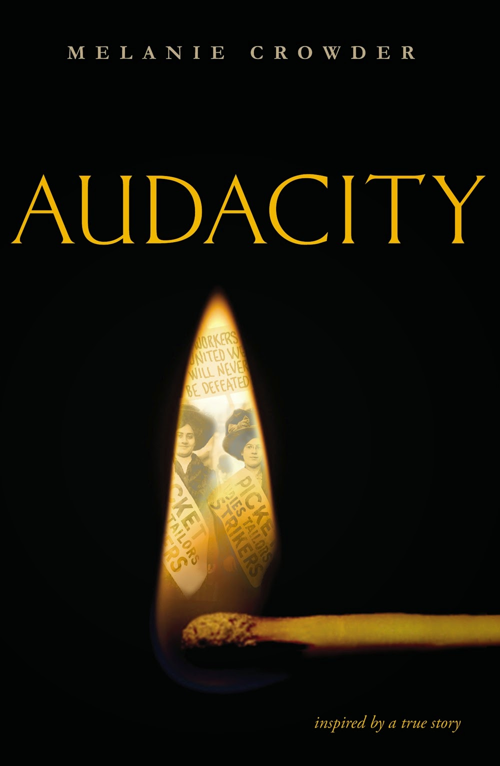 Audacity by Melanie Crowder - Clear Eyes, Full Shelves Verse Novel Week