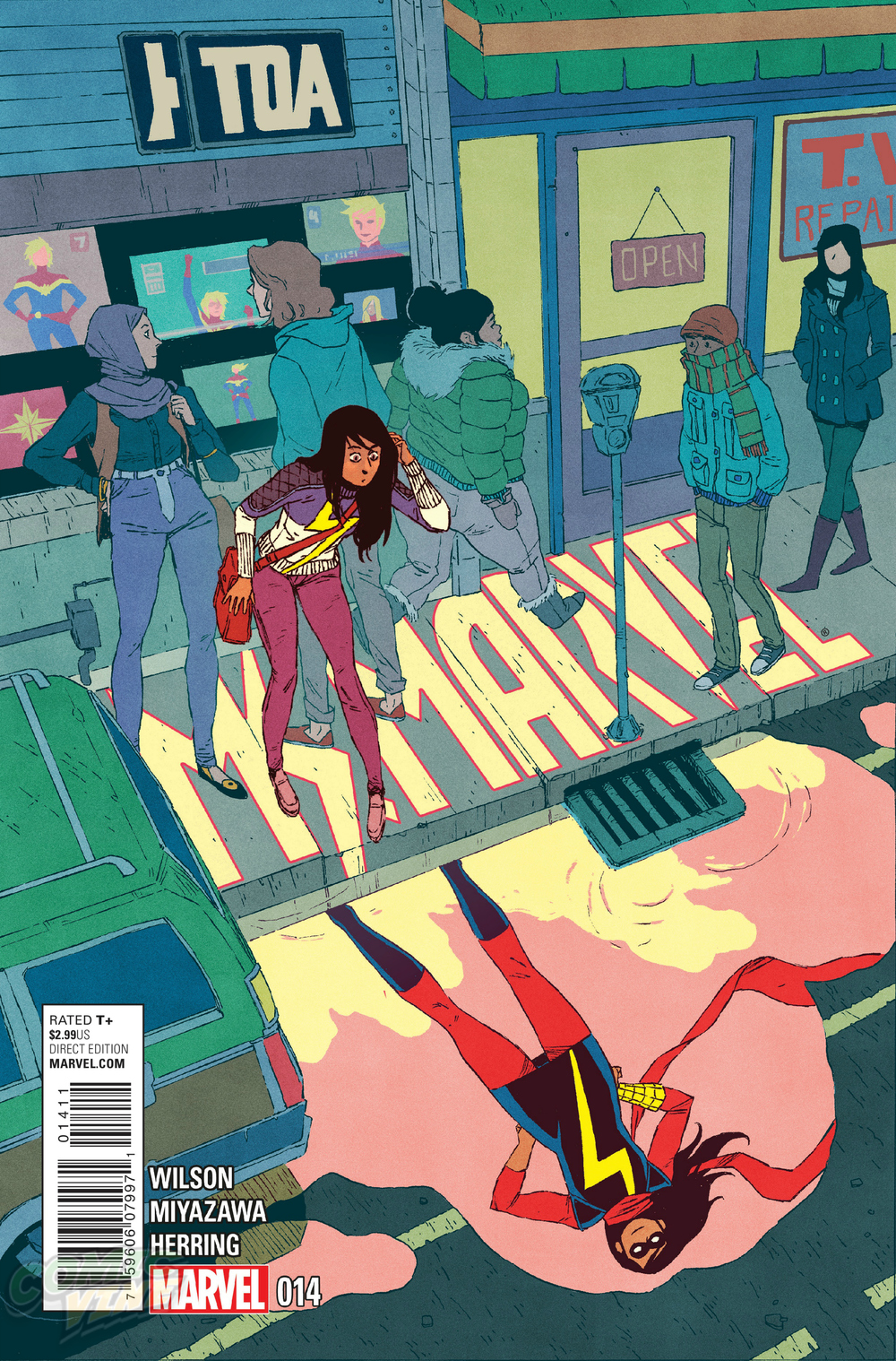 Ms. Marvel Issue #14