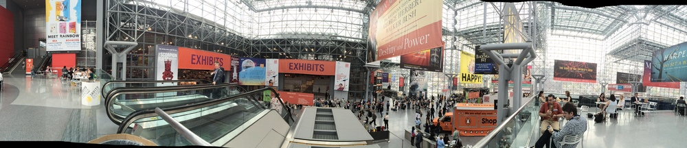 Panorama of the Javits Center at BEA