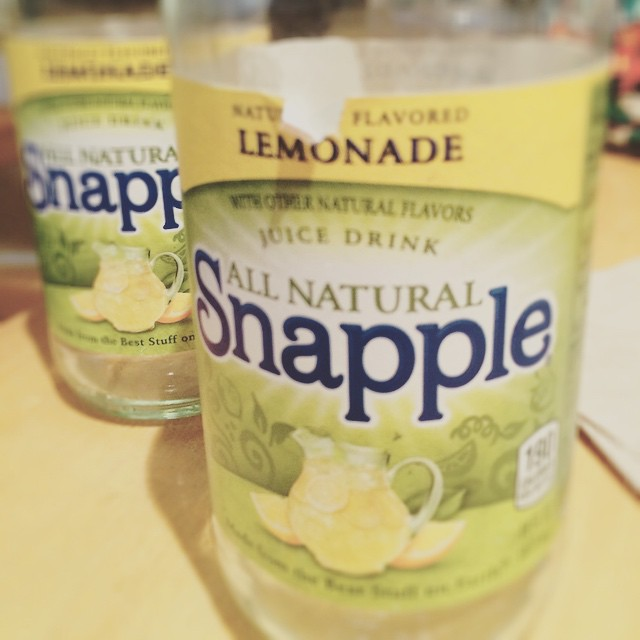Snapple-ing Like it's 1997