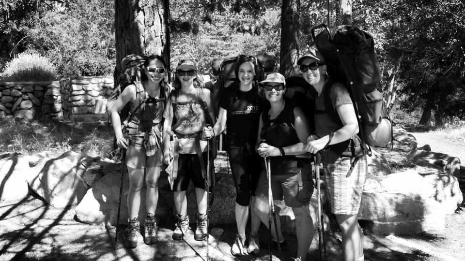 Backpacking near Mount Baldy last Sunday/Monday.