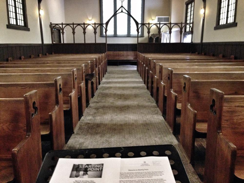 Recent Newcomers Class - Chapman Chapel