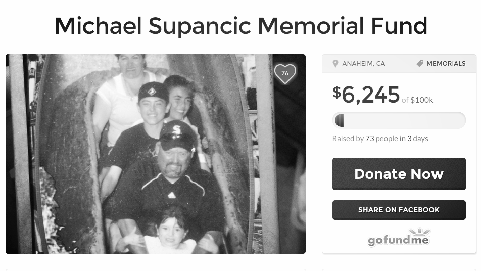 Michael Supancic Memorial Fund