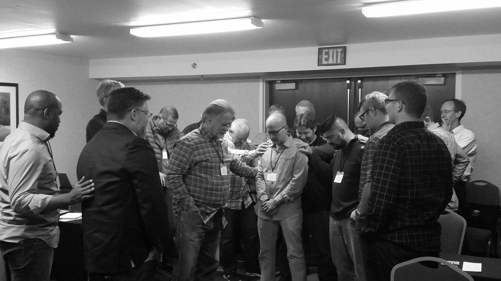 SGC Western Region praying for Legacy Church