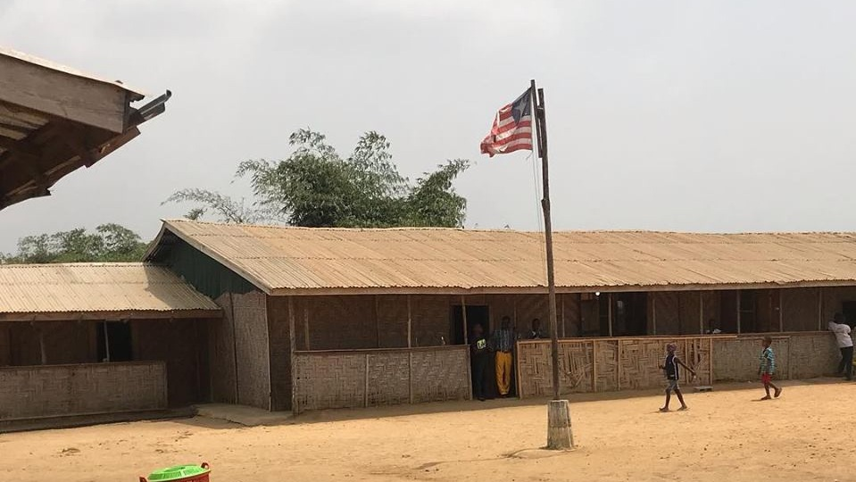 The building where Pastor Eric and other pastors from our denomination are training 100 pastors in West Africa. Photo courtesy of Pastor Eric.