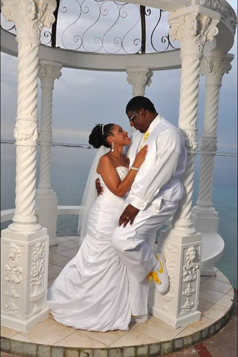 D'andre & Anthony got married in 2014 at Sandals in Jamaica!