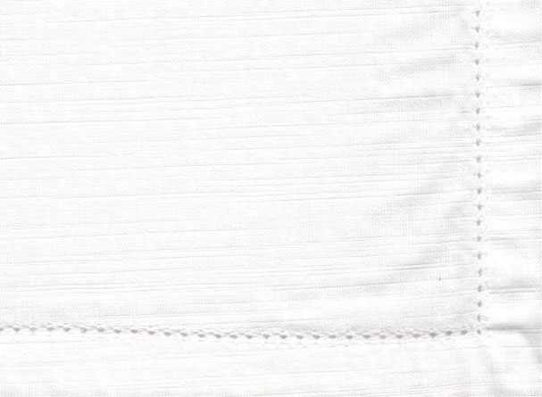 White Hemstitch