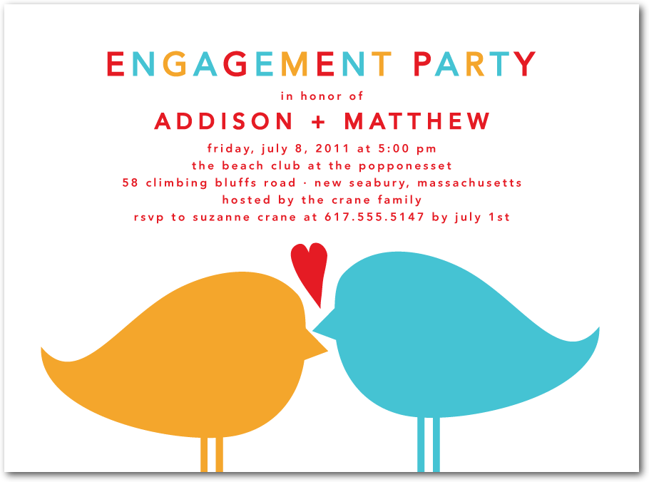 The Engagement Party — Behind The Scenes Inc