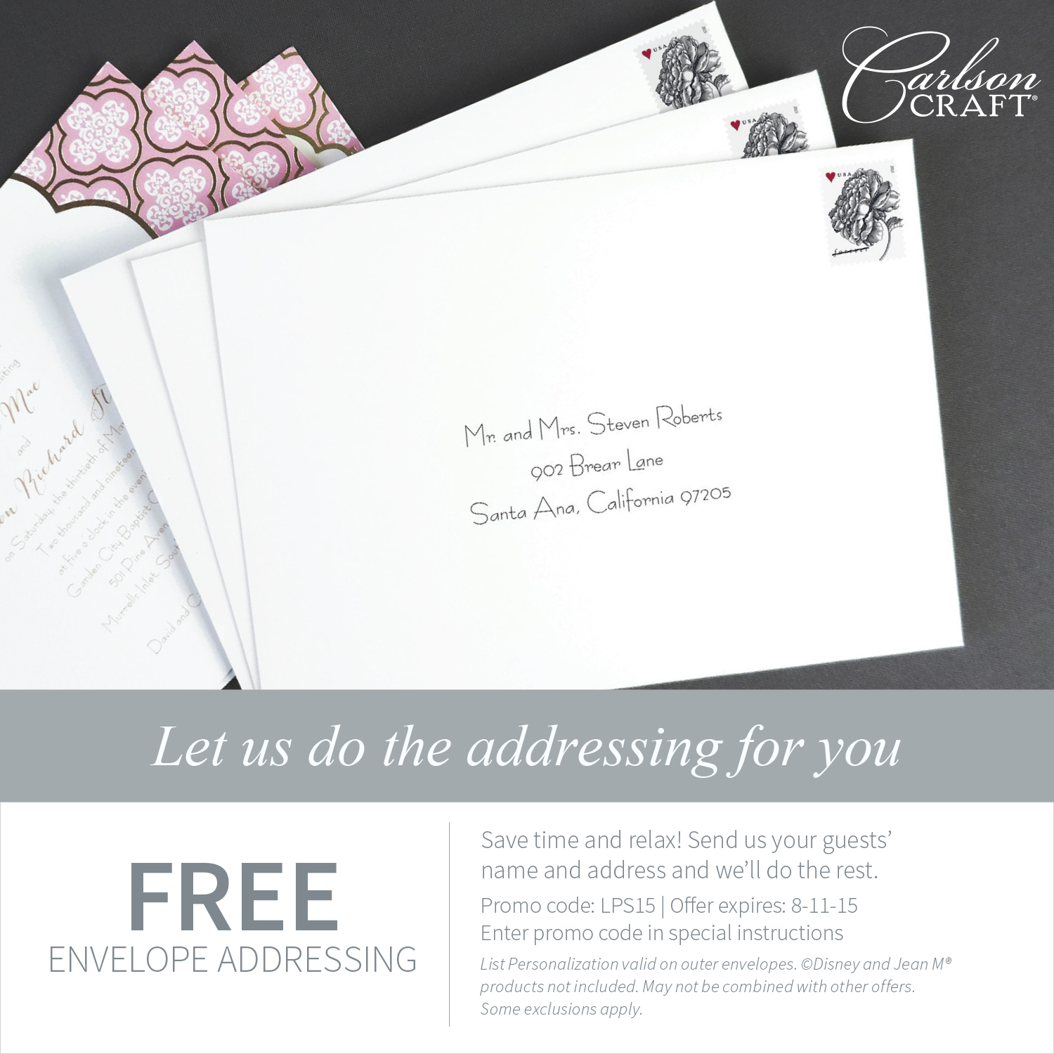 Free Envelope Addressing
