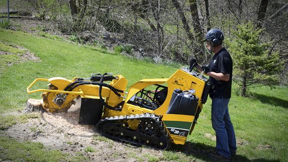 Stump Cutter SC30TX Tracked