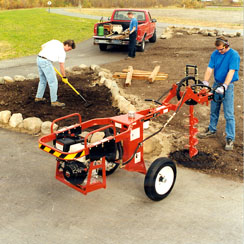 Hole Digger / Auger (Large - Towable) — Nickell Rental