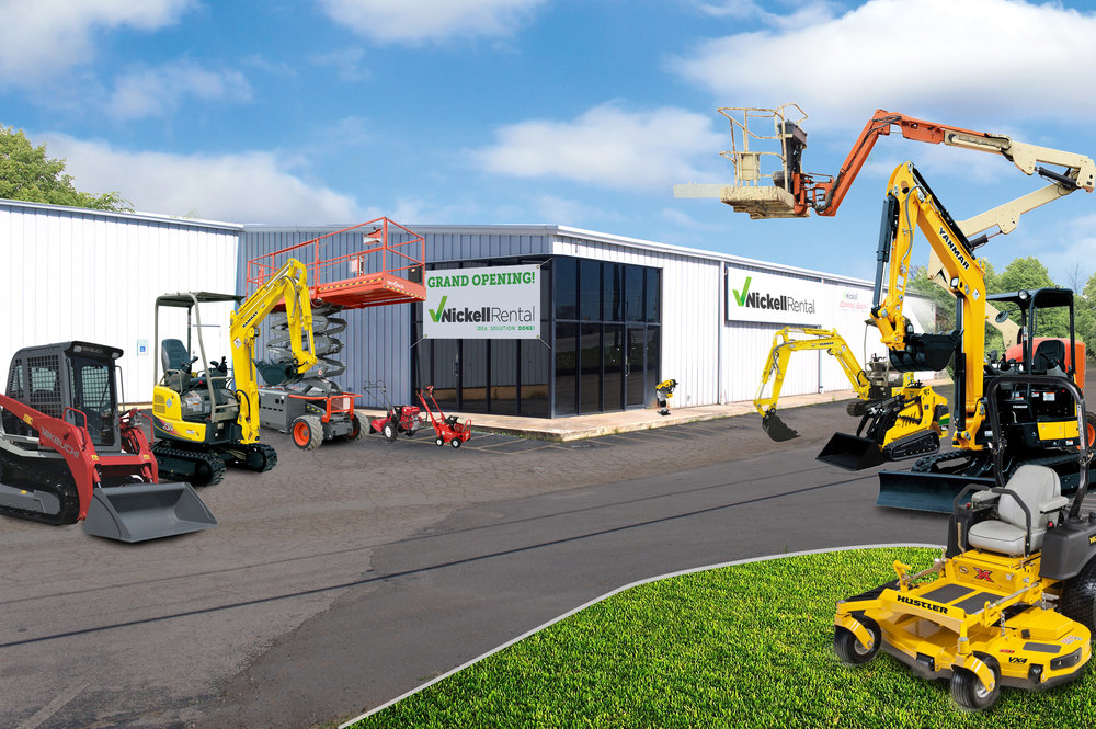 Nickell Rental's fourth store is now open in LaGrange, Georgia at 1902 Roanoke Rd.