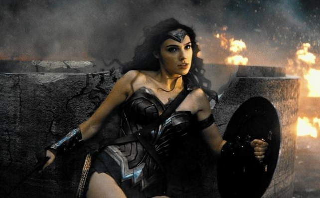 "Gal Gadot as Wonder Woman in ""Batman v Superman: Dawn of Justice."" (Warner Bros. Pictures)"