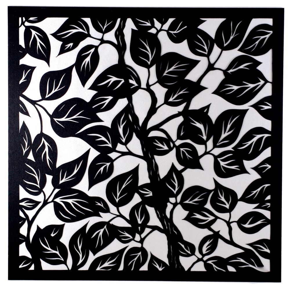 Leaves II:Silver Background.jpg